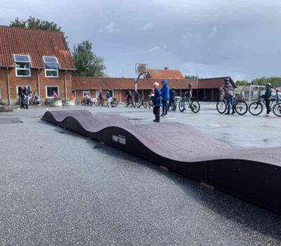 Pumptrack Fjelstrup skole