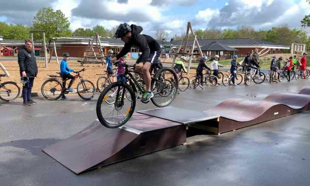 Pumptrack basis Plus 15 m